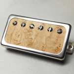 Birdseye Maple Wood P.A.F Humbucker Pickup Open Ring