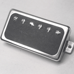 Black Fiber Humbucker P.A.F Pickup