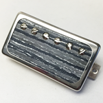 Exotic Black Wood P.A.F Humbucker Pickup Open Ring