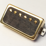 Exotic Ebony Wood P.A.F Humbucker Pickup Open Ring
