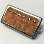 Exotic Sapele Wood P.A.F Humbucker Pickup Open Ring