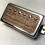 Exotic Wenge Wood P.A.F Humbucker Pickup Open Ring