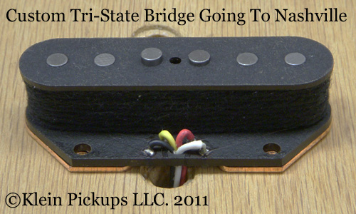 Custom Tri-State Telecaster Bridge Pickup