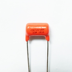 .022 Sprague Orange Drop Guitar Tone Capacitor