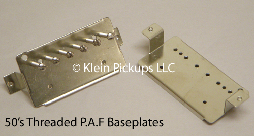 Klein Pickups 50's Threaded P.A.F Baseplates