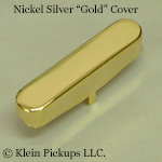 Upgrade to a Telecaster Neck Gold Cover