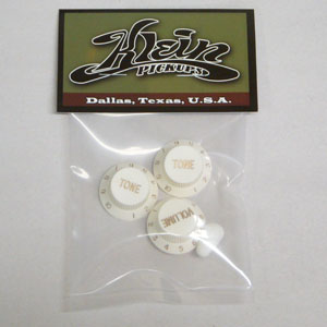 Stratocaster Replacement White Knobs