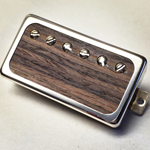 Exotic Rosewood P.A.F Humbucker Pickup Open Ring