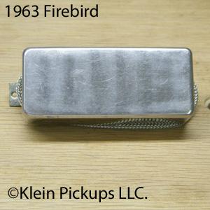 1963 Original Gibson Firebird Pickup Rewind