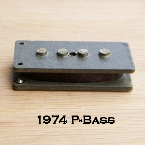 1974 Precision Bass Pickup Rewind
