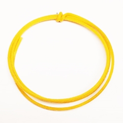 Yellow Vintage Cloth Push Back Wire
