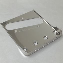 Vintage Telecaster Bridge Plate with Short Sides - Nickel