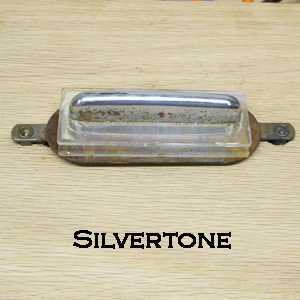 Silvertone Speed bump Pickup Rewind