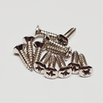 Screws - Nickel Guitar Pickguard Screws