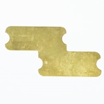Shield - P Bass Brass Grounding Plate/Shield