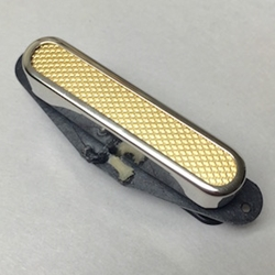 Telecaster Neck Gold Foil Nickel Cover