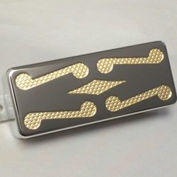 Mustache Diamond Gold Foil