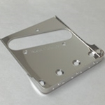 Vintage Ashtray Telecaster Bridge Plate with Short Sides - Nickel