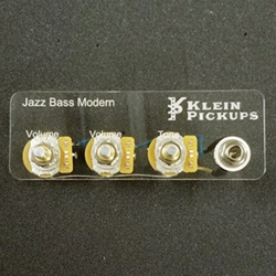Jazz Bass Pre-Wire Electronic Harness