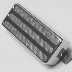 Firebird Three Hole Silver Mic Pickup