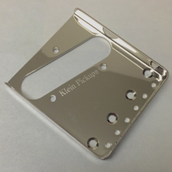 Vintage Ashtay Telecaster Bridge Plate - Nickel